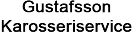 Gustafsson Karosseriservice logo