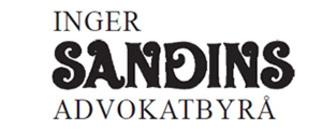 Advokatbyrå, Inger Sandin logo