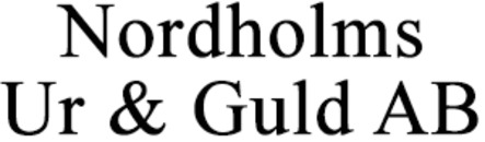 Nordholms Ur & Guld AB logo