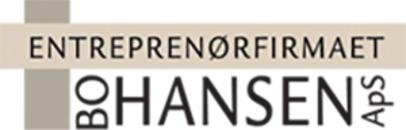 Entreprenørfirmaet Bo Hansen ApS logo