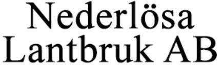 Nederlösa Lantbruk AB logo
