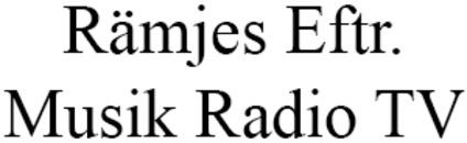 Rämjes Eftr. Musik Radio TV logo