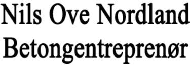 Nils Ove Nordland Betongentreprenør logo
