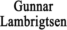 Gunnar Lambrigtsen logo