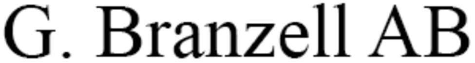 G. Branzell AB logo