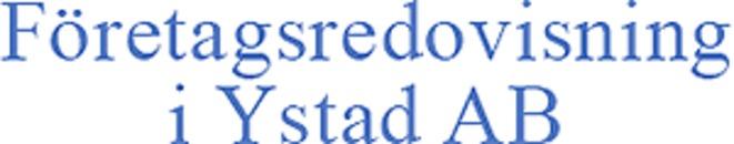 Företagsredovisning i Ystad AB logo