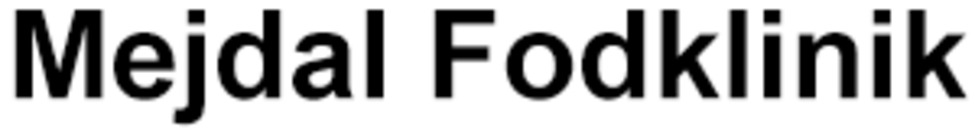 Mejdal Fodklinik logo