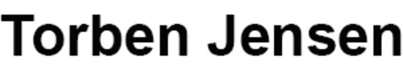 Torben Jensen logo