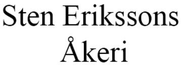 Erikssons Åkeri AB, Sten logo