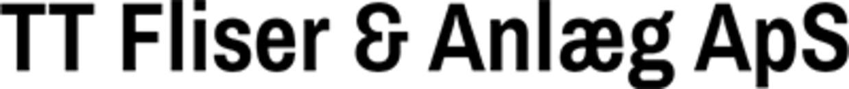 TT Fliser Og Anlæg ApS logo