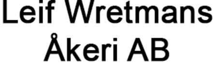 Wretmans Åkeri AB, Leif logo