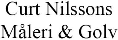 Curt Nilssons Måleri o. Golv logo