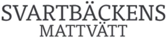 Svartbäckens Mattvätt logo