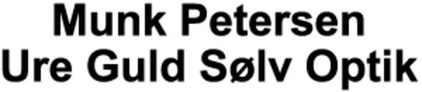 Munk Petersen Ure Guld Sølv Optik logo