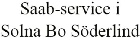 Solna Saab-service logo