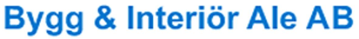 Bygg&Interiör Ale AB logo