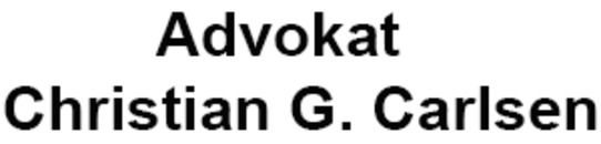 Advokat Christian G. Carlsen logo