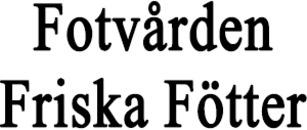 Fotvården Friska Fötter logo