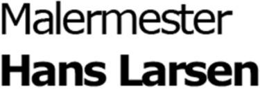 Malermester Hans Larsen logo