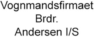 Vognmandsfirmaet Brdr. Andersen I/S logo