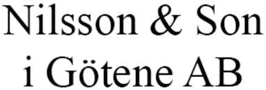 Nilsson & Son i Götene AB logo