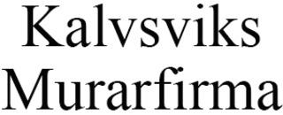 Kalvsviks Murarfirma logo