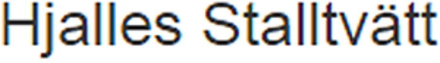 Hjalles Stalltvätt logo