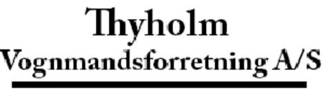 Thyholm Vognmandsforretning A/S logo
