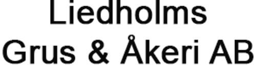 Liedholms Grus & Åkeri AB logo