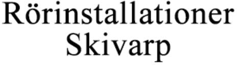 Rörinstallationer Skivarp logo