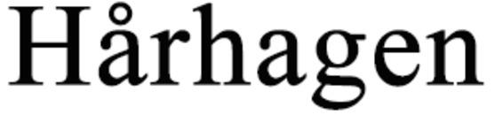 Hårhagen logo