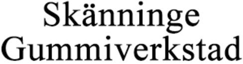 Skänninge Gummiverkstad logo