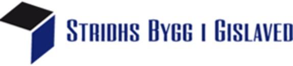 Stridhs Bygg I Gislaved logo