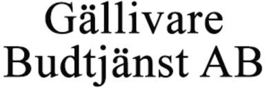 Gällivare Budtjänst AB logo