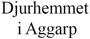 Djurhemmet i Aggarp med begravningsplats logo