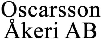 Oscarsson Åkeri AB logo