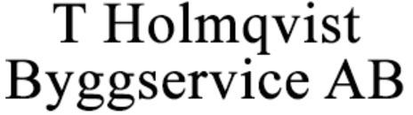 T Holmqvist Byggservice AB logo
