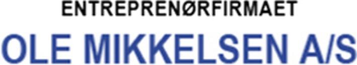 Entreprenørfirmaet Ole Mikkelsen A/S logo