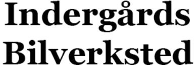Indergårds Bilverksted logo