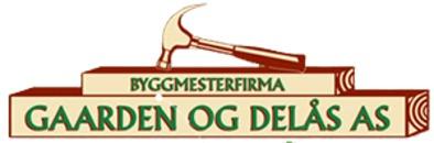 Byggmesterfirmaet Gaarden og Delås AS logo