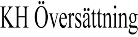 KH Översättning logo