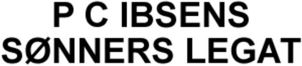 P C Ibsens Sønners Legat logo