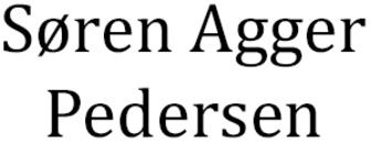 Vognmand Søren Agger Pedersen logo