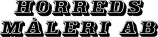 Horreds Måleri AB logo