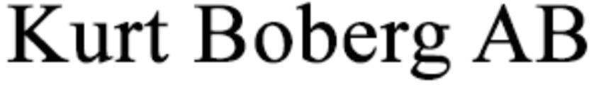 Kurt Boberg AB logo