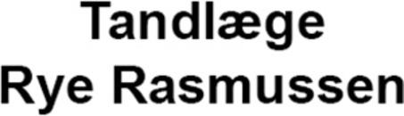Tandlæge Rye Rasmussen logo