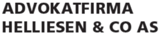 Advokatfirma Helliesen & Co AS logo