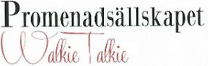 Promenadsällskapet Walkie Talkie logo