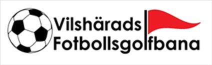 Vilshärads Fotbollsgolfbana HB logo