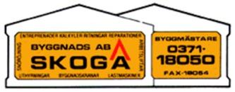 Byggnads AB Skoga logo